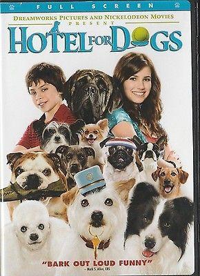 Hotel for Dogs (DVD, 2009, Sensormatic; Full Screen)  Emma Roberts