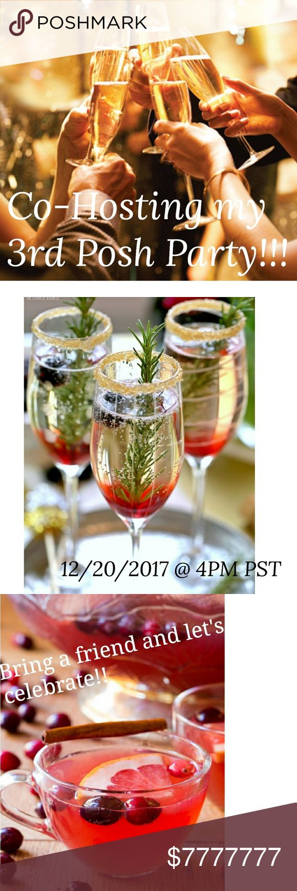 PARTY TIME!!!!! December 20th @4PM. Theme TBA.  Stay tuned for more info. Other
