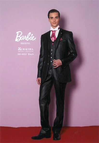 バービー&ケンタキシード。2人でバービーブライダルもステキ♡新郎のお色直し衣装アイデア一覧です。