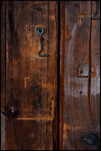 such beautiful worn woodInteriors Design Offices, Weather Wood, Hooks, Design Interiors, Old Wood, Brown, Wooden Doors, Old Doors, Wood Doors