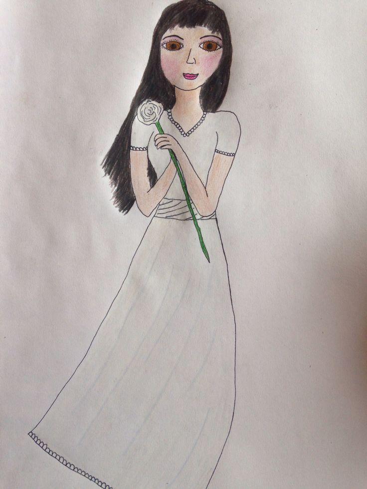 Mon dessin de Soledad (chapitre: La dernière fois) #LeVampireNeymar