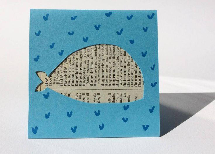 Un preferito personale dal mio negozio Etsy https://www.etsy.com/it/listing/519387854/ephemeracard-petite-baleine