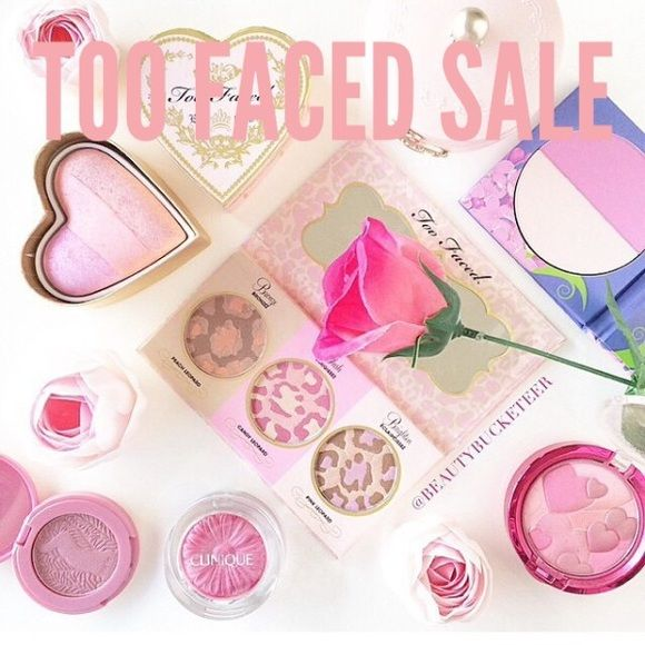 TOO FACED SALE on dote! $5 off your order w/code Use dote shopping app code FBHF for $5 off your first purchase AND free shipping on stores like brandy melville, urban outfitters, free people, sephora, mac cosmetics & more! shipping from these stores is usually major $ so this is a really good deal. treat yourself!  **This listing is NOT for sale, just sharing an amazing deal Too Faced Makeup