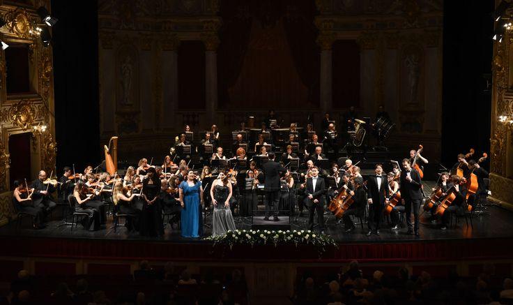 """Orchestra del Conservatorio """"A. Boito"""" - Francesco Cilluffo (foto Roberto Ricci)"""