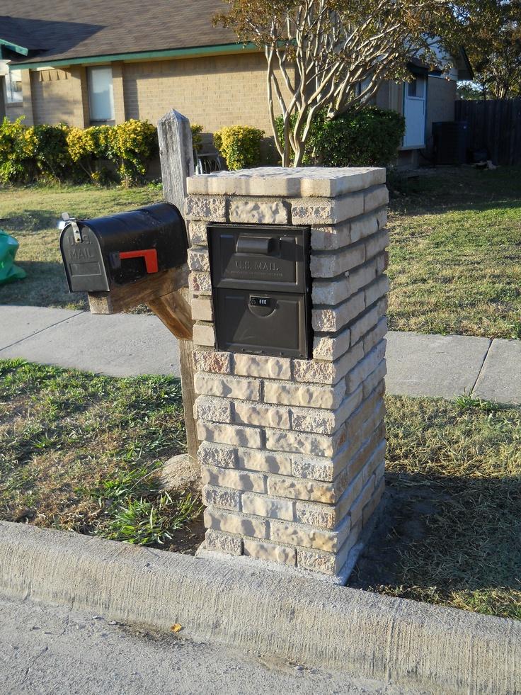 18 best ideas about Mailbox Ideas on Pinterest : Metal mailbox, Columns and Mailbox designs