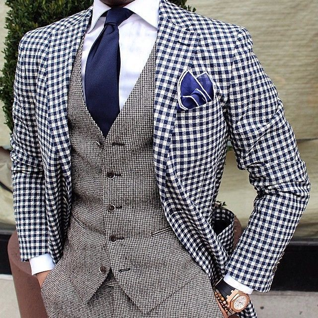 Gingham fun... Is Sartorial Splendor!!!