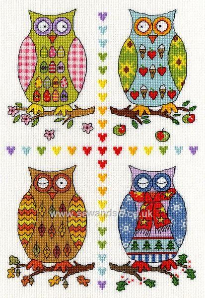 Buy Four Owls online at sewandso.co.uk