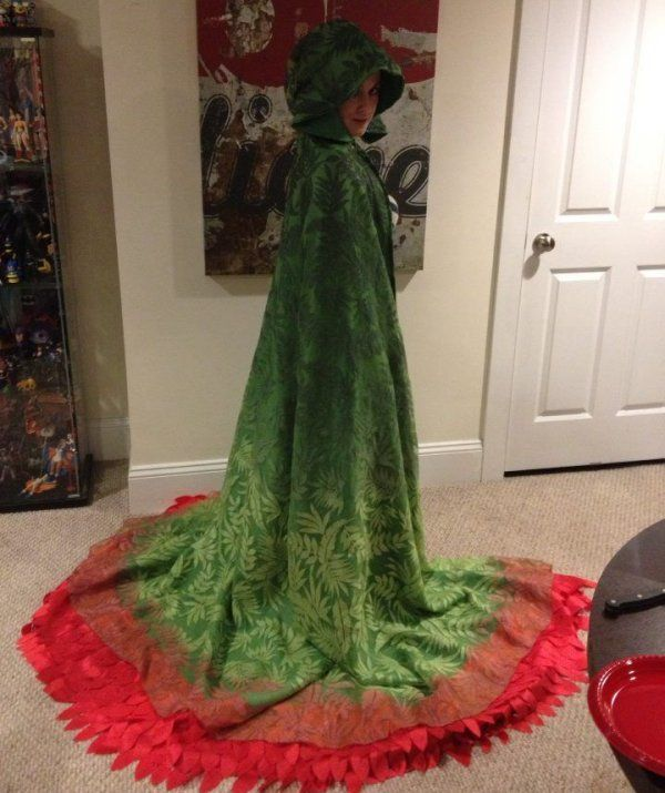 Poison Ivy Batman and Robin costume