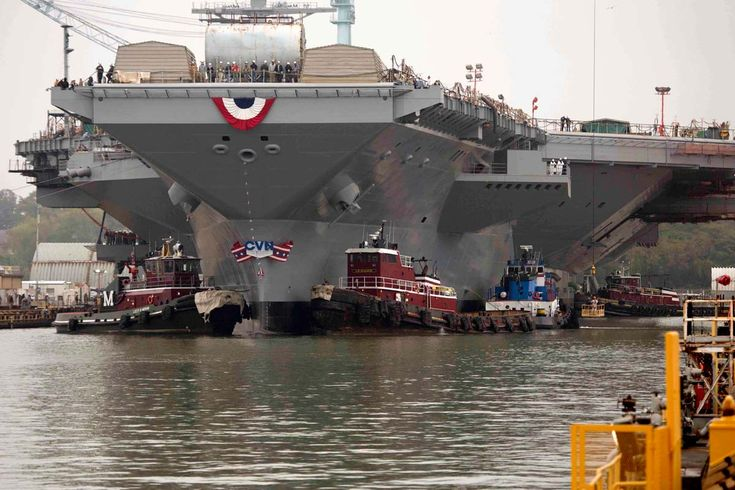 Mabus cited progress toward resolving issues on the carrier Gerald R Ford, but declined to predict when it would join the fleet.