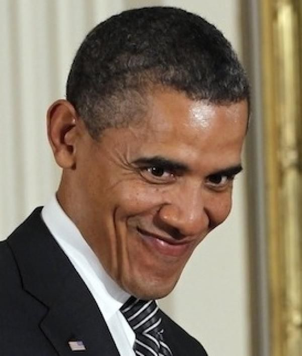 Image result for smiling obama