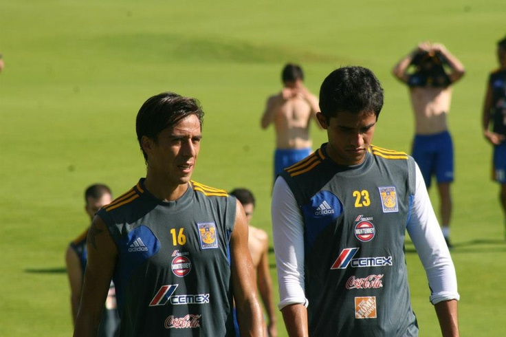 Lucas Lobos y Alonso Zamora - Pretemporada Clausura 2013.