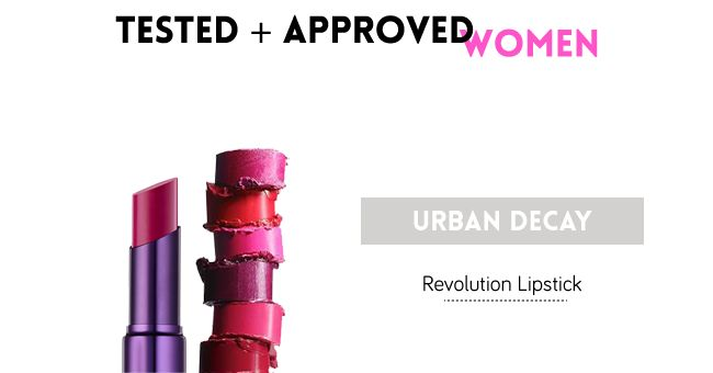 Tested & Approved - The Urban Decay Lipstick