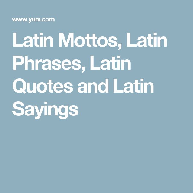 Tattoo Designs Quotes Latin: 25+ Best Ideas About Latin Phrases On Pinterest