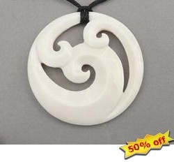 Maori Koru necklace