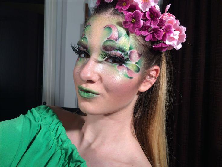 Tavaszi hangulat.. fantázia smink, artistic makeup