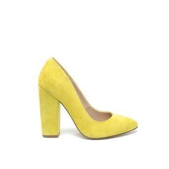 Invito - gele pumps #hogehakken #highheels