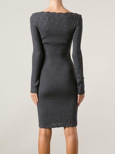 JEAN PAUL GAULTIER - knitted dress More