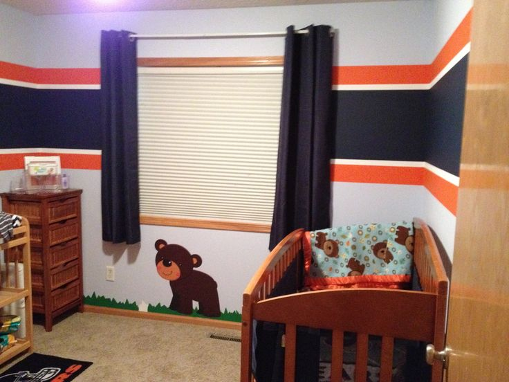 Chicago Bears Theme Room
