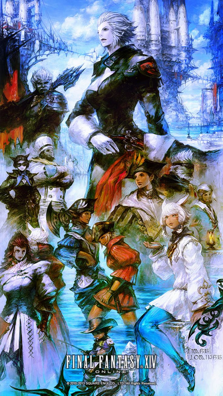 Limsa Lominsa Promo from Final Fantasy XIV: A Realm Reborn