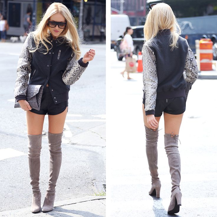 Sexy boots! @Shea Parker Parker Marie rocks the HIGHLAND during #NYFW #SheaMarie #madeforwalking