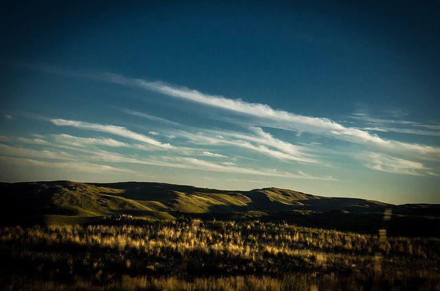 sunset on the mountain | Flickr: Intercambio de fotos