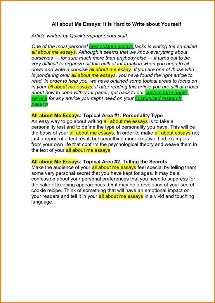 the best all about me essay ideas songs about  how to start an about me essay opinion of experts