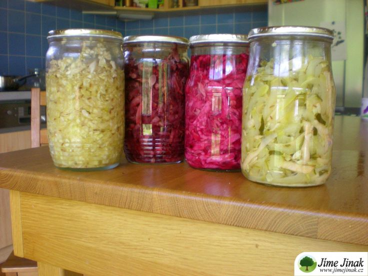 Pestrá kvašená zelenina » Jíme Jinak