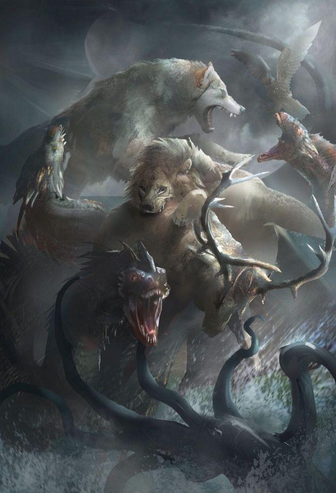 Beasts-Game of Thrones fan art