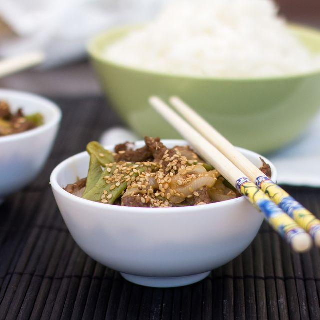 """Ternera teriyaki. Receta japonesa con Thermomix Volvemos con la gastronomía asiática, ésta vez a Japón, con una receta de la nueva colección de la plataforma Cookido, """"Japón"""", ternera teriyaki. La col"""