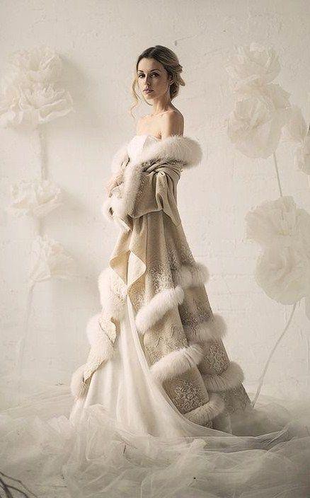 Winter bride. #weddings