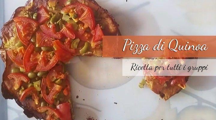 pizza di quinoa ricetta