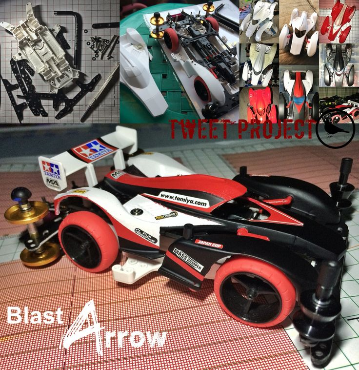 Blast Arrow Tweet Project #TAMIYA #mini4wd #TAMIYA_Indonesia #TAMIYA_Jakarta