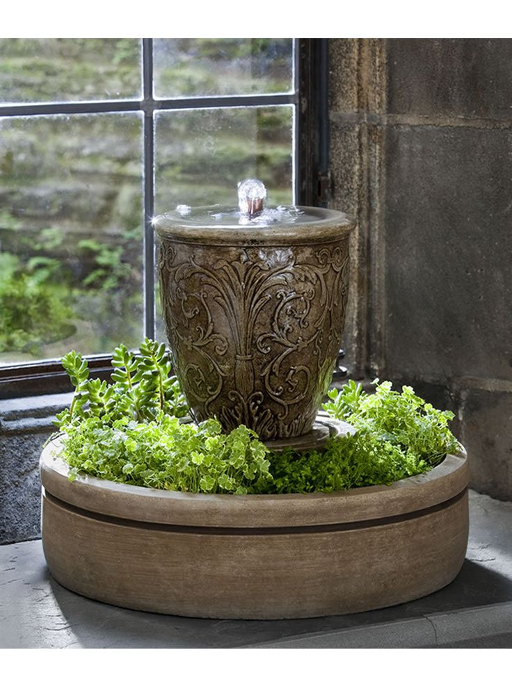 Small Garden Fountain: The 25+ Best Small Indoor Water Fountains Ideas On