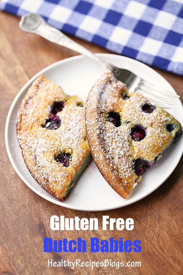 Gluten Free Dutch Babies