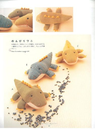 LOOK AT THESE CUTIES. Patterns are included!