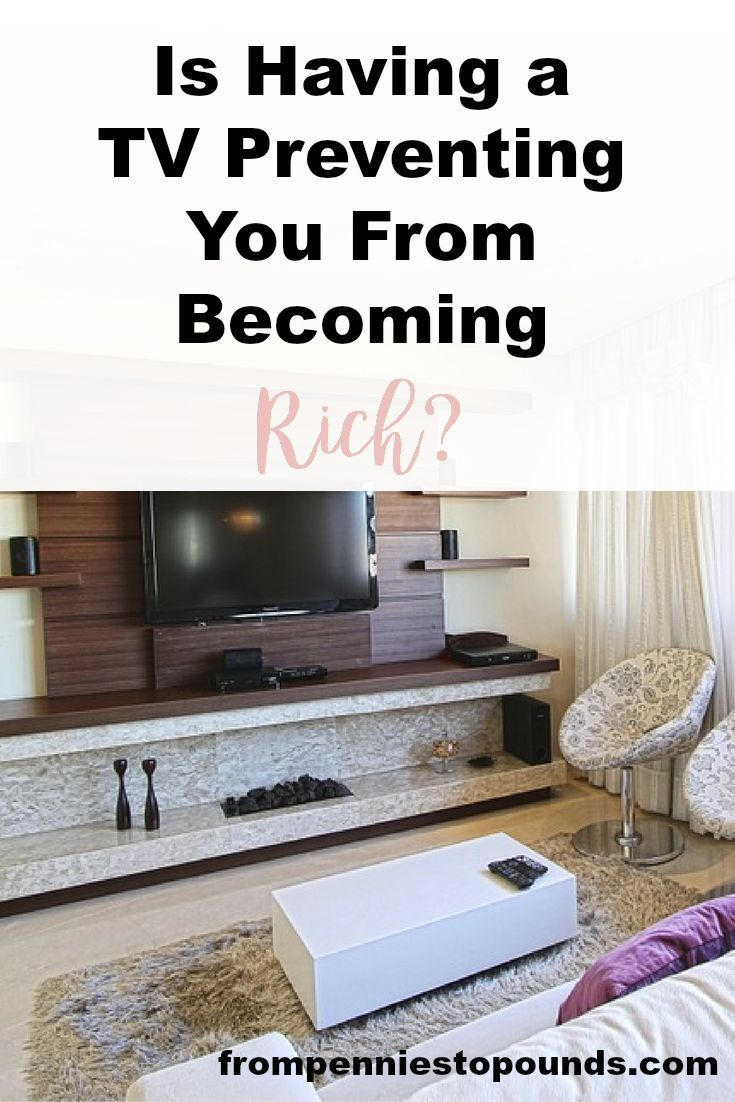 Is having a TV preventing you from becoming rich? Money saving ideas here: http://www.frompenniestopounds.com/tv-stopping-rich/
