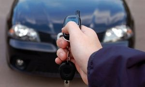 Keyless Remote Car Starter with Installation at Midwest Auto Customs (Up to 60% Off). Two Models Available.