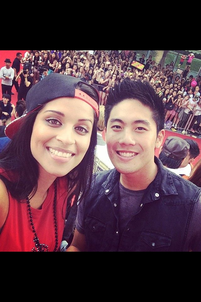 iisuperwomanii aka Lilly Singh with Nigahiga aka Ryan Higa❤️ like a dream come true!(: