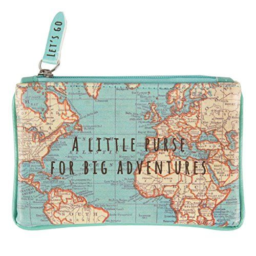 From 3.10:Sass & Belle Chc091small Bag Vintage Map For Great Adventures.   Shopods.com