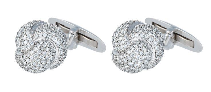 Haute Vault, mens accessories, cufflinks, large collection, stunning diamond accessories