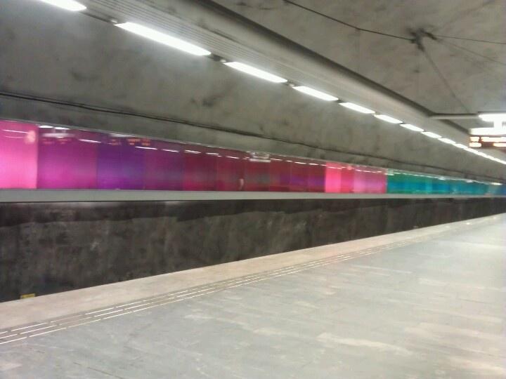 Bagarmossens tunnelbanekonst