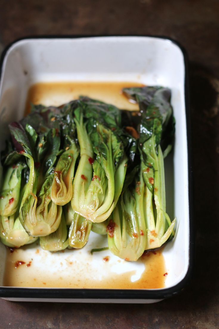 Quick and easy #recipe for #bokchoy