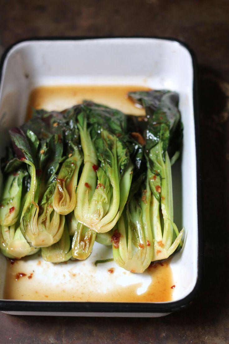Stir-fry Bok Choy