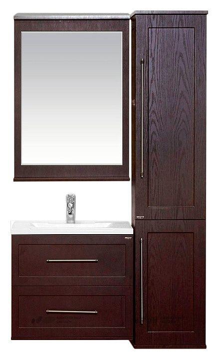 Мебель для ванной Misty Марта 60 подвесная венге купить в магазине Сантехника-онлайн.Ру