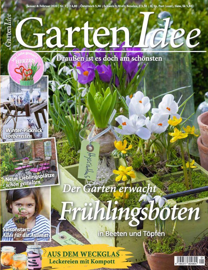 Gartenidee Ausgabe Januar Februar 2020 In 2020 Garten Ideen Garten Idee
