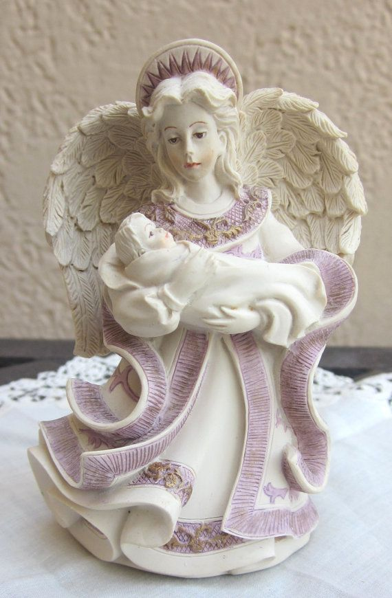 Sarah's Angels Mother's Day figurine  Collectible by MagpieSue, $8.50