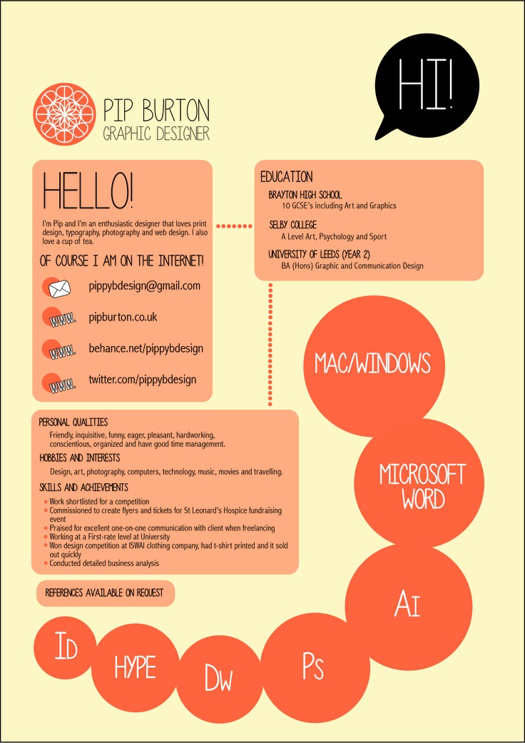17 best How to make your CV stand out images on Pinterest Design - personal interests