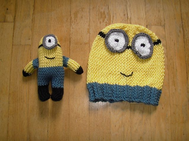 Free Crochet Pattern For Minion Toy : Ravelry: Minion Hat and Toy pattern by Beth A Ferwerda ...