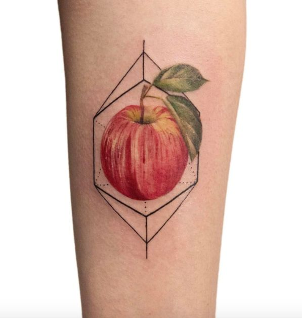 Delicious Apple Tattoo