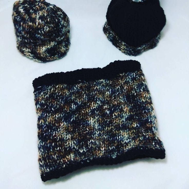 "(@nelly_gallo_) στο Instagram: ""#handmade #handed #knitting #knitwear #neck #knitneck # black #yarn #wool 30 %#acrilyc 70 %#fantezi…"""